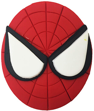 Spiderman Cupcake Decoration