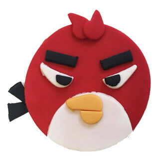 Angry Birds Cupcake Decoration