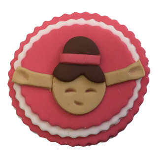 Ballerina Cupcake Decoration