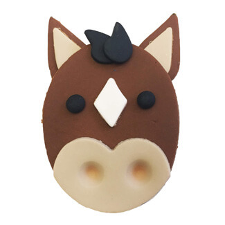 Horse Cupcake Decoration