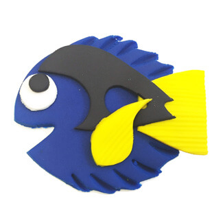 Finding Dory Cupcake Decoration