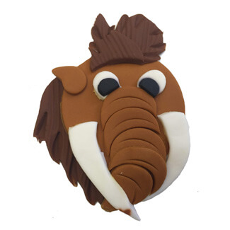 Ice Age Cupcake Decoration