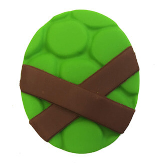 Ninja Turtle Cupcake Decoration