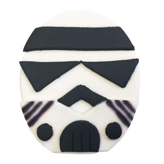 Storm Trooper Cupcake Decoration