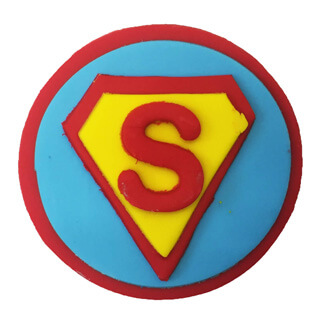 Superman Cupcake Decoration