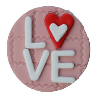 Valentine's Cupcake Decoration