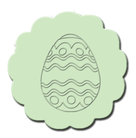 Easter Cupcake Decoration Mint Green
