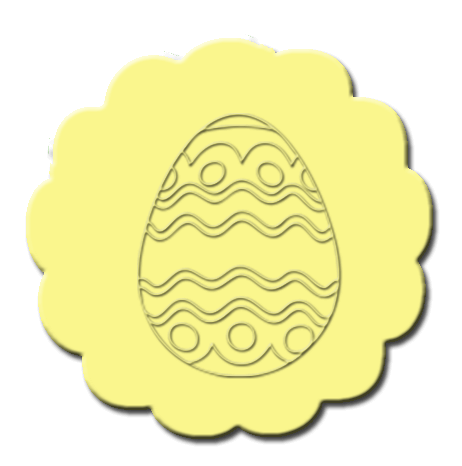 Easter Cupcake Decoration Yellow