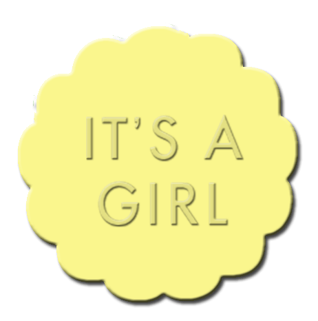 Gender Reveal Cupcake Decoration Light Yellow