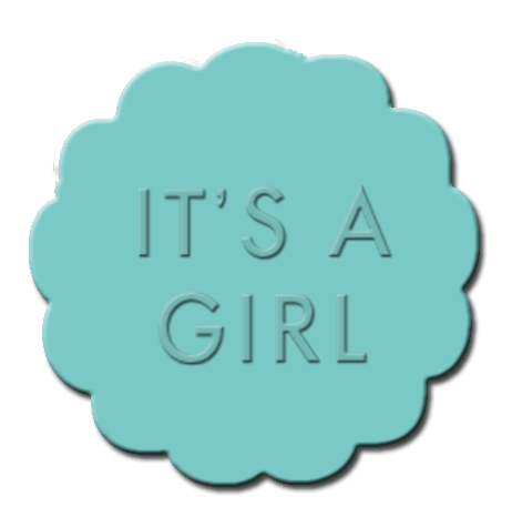Gender Reveal Cupcake Decoration Teal